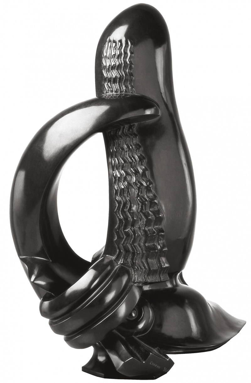 Jean Chauvin - Sculpteur - Sirène - bronze - 1937