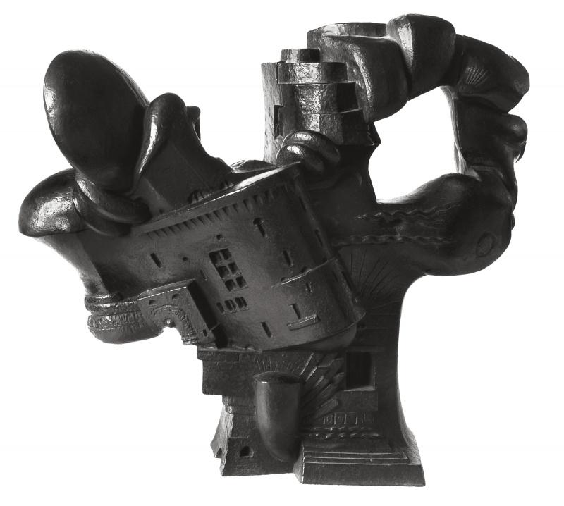 Jean Chauvin - Sculpteur - Rêverie - bronze - 1951