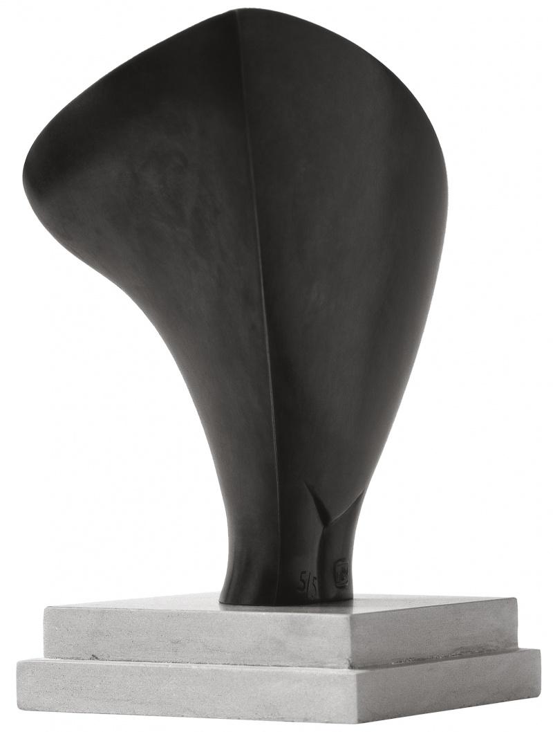 Jean Chauvin - Sculpteur - Hirondelle - bronze - 1953